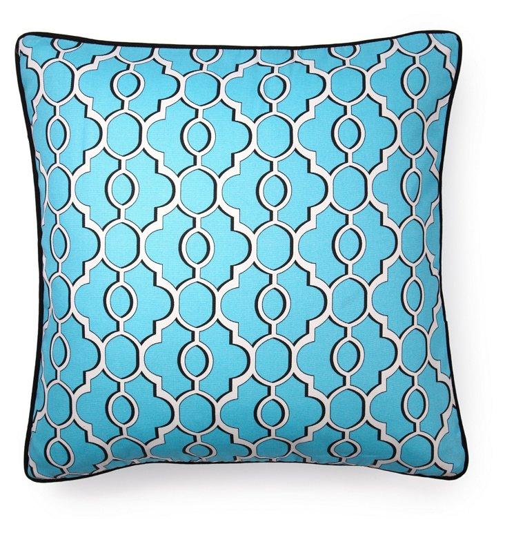 Monterey 20x20 Outdoor Pillow, Blue