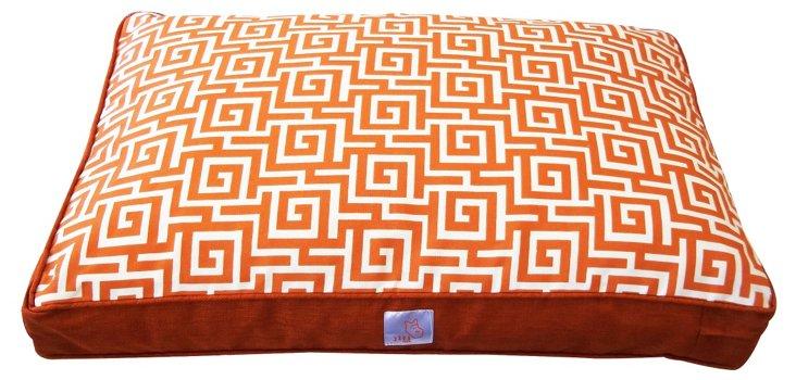 Puzzle Pet Bed, Orange