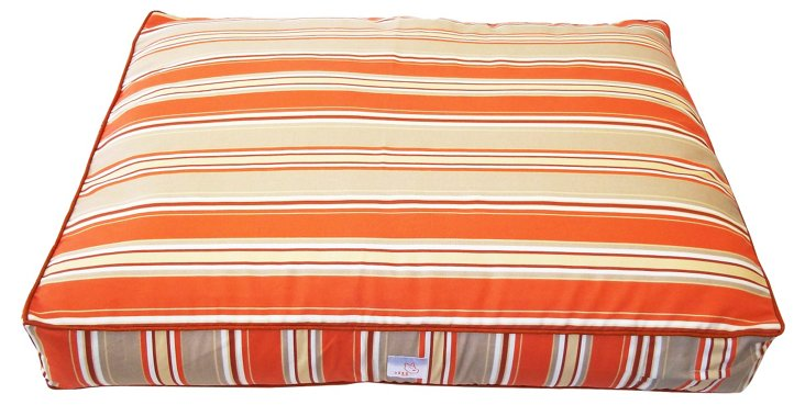 Thickstripes Pet Bed, Orange