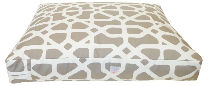 Bones Pet Bed, Taupe