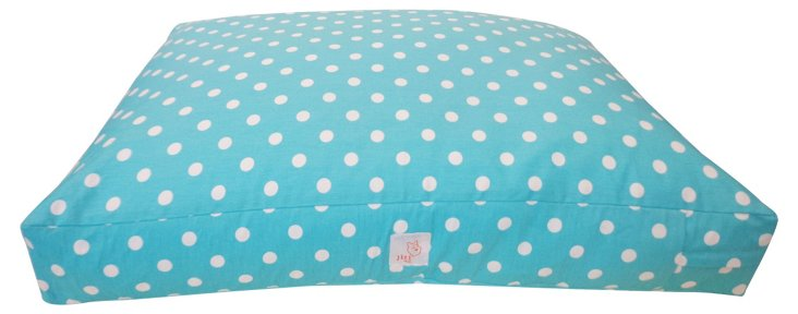 Whales Pet Bed, Blue