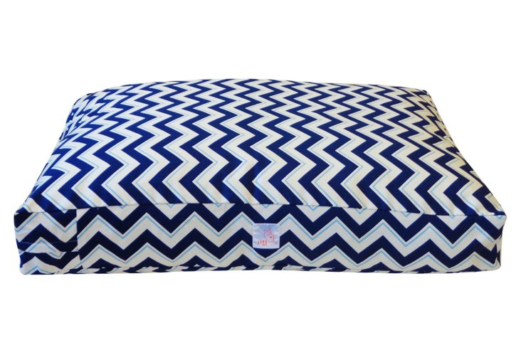 Alberta Pet Bed, Blue