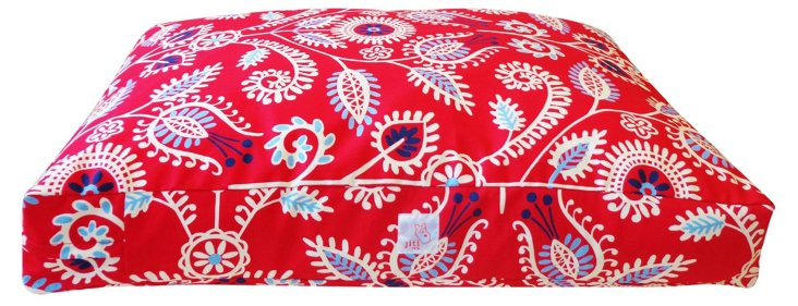 Western Pet Bed, Red