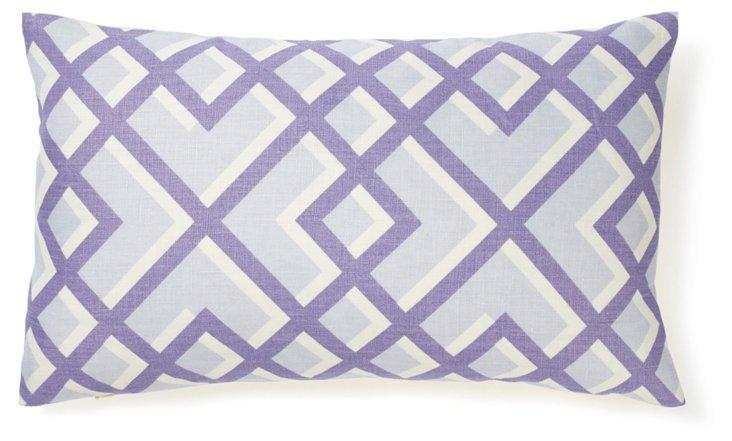 Flexi 12x20 Cotton Pillow, Purple