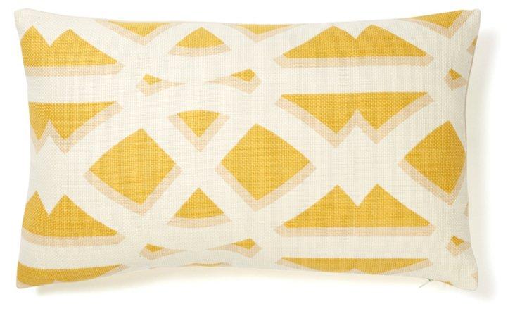 Crossroads 12x20 Pillow, Mustard