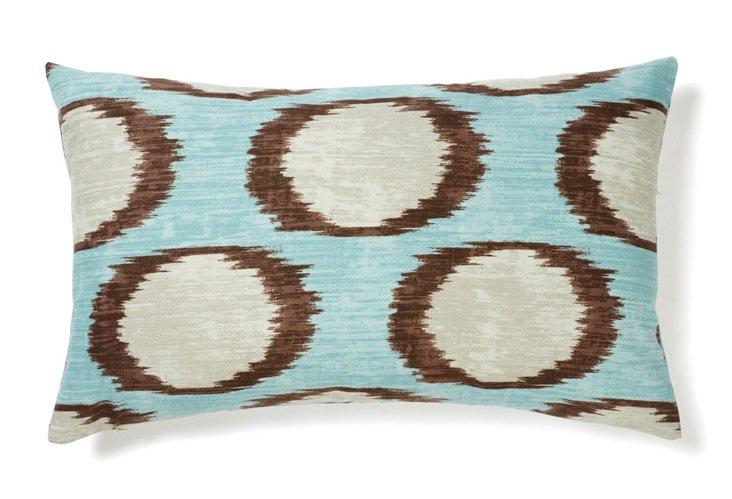 Mars 12x20 Cotton Pillow, Sky