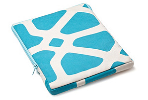 Bones iPad Case, Turquoise