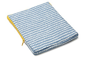 Stitch iPad Case, Blue