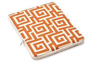 Puzzle iPad Case, Orange