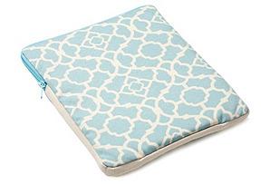 Moroccan iPad Case, Blue