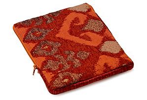 Ikat iPad Case, Orange