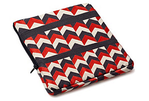 Sharp iPad Case, Red
