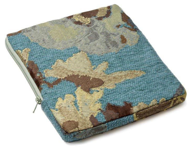 Hortencia iPad Case, Aqua