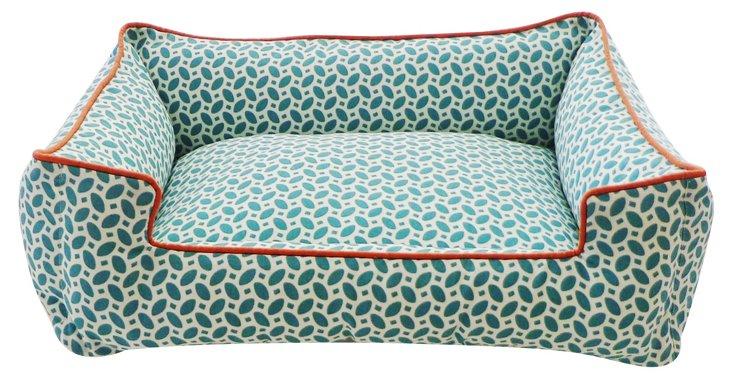 Medium Pet Chill Couch, Pik Pak Blue
