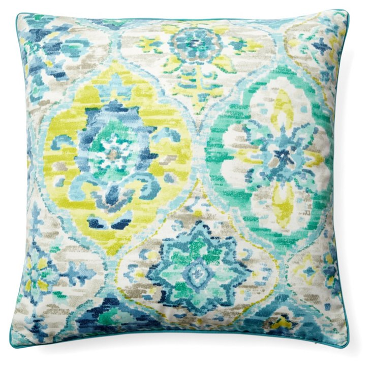 San Telmo 20x20 Pillow, Blue