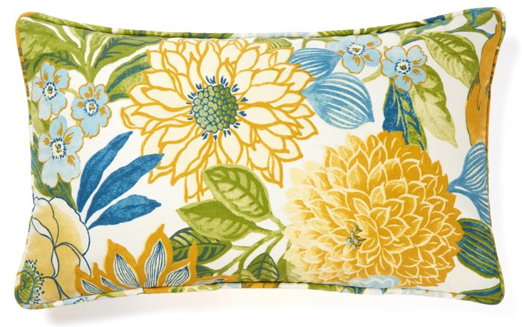 Suave 12x20 Outdoor Pillow, Multi