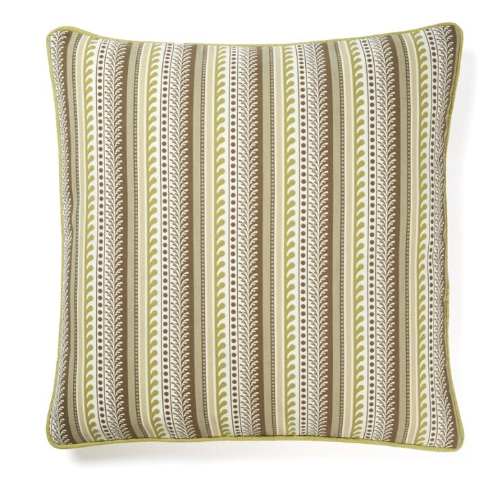 Premi 20x20 Outdoor Pillow, Brown