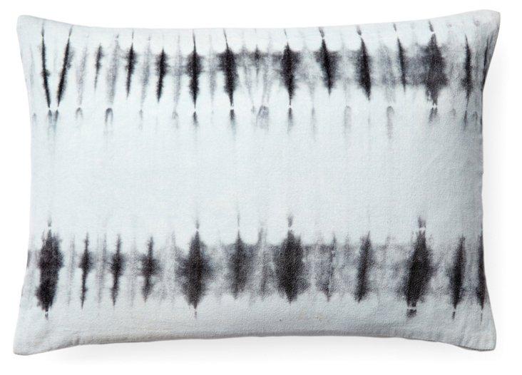 Taiga 14x20 Cotton Pillow, Gray