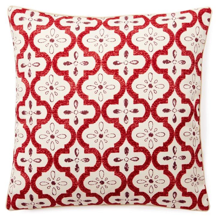 Tilt 20x20 Outdoor Pillow, Multi