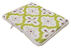Tiles iPad Case, Green