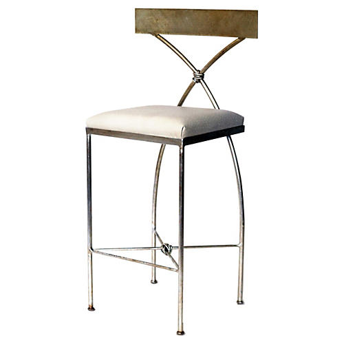 Ivey Counter Stool, Champagne