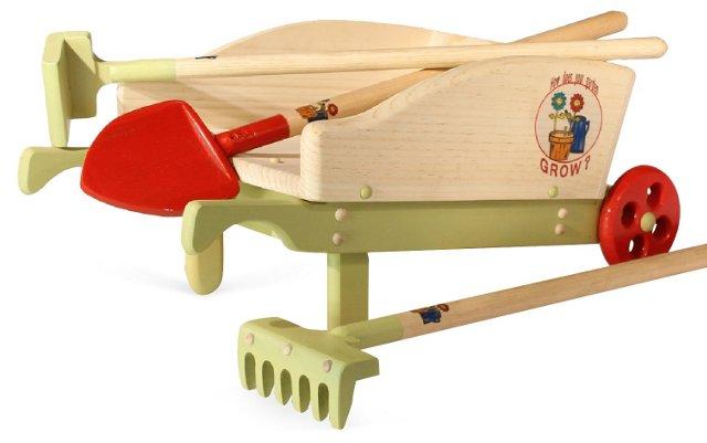 Garden Cart w/ Tools
