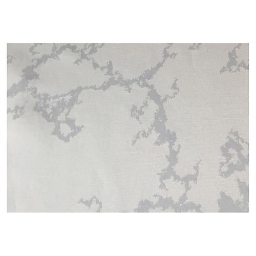 S/4 Carrara Place Mats, Taupe/Silver