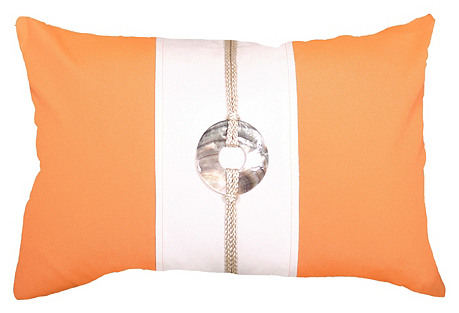 Outdoor Sash 14x21 Pillow, Orange