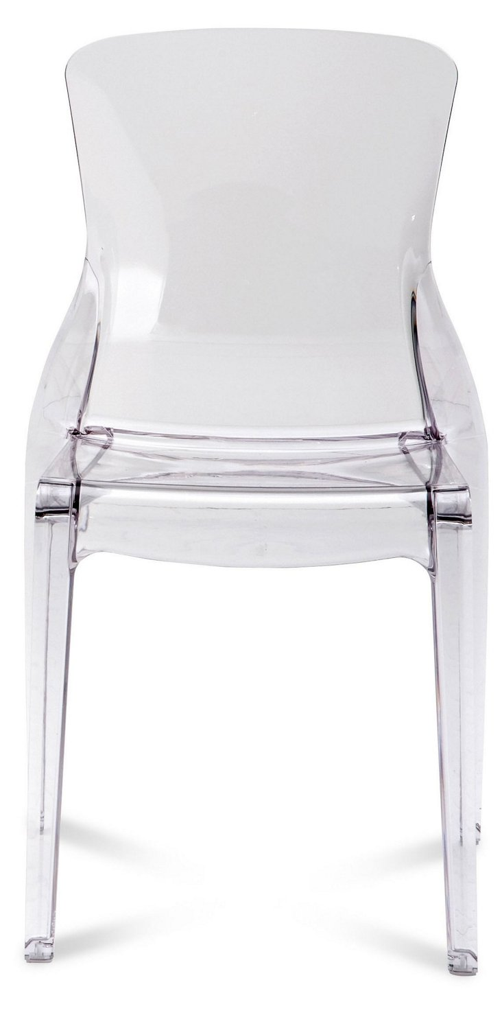 Crystal Chair, Clear