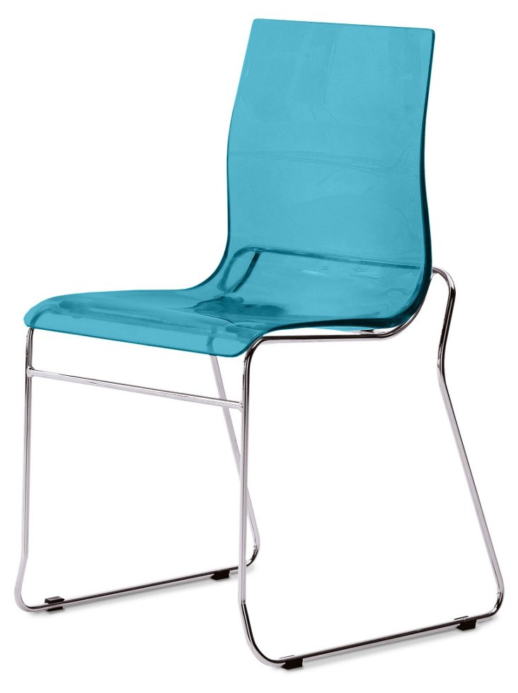 William Chair, Turquoise