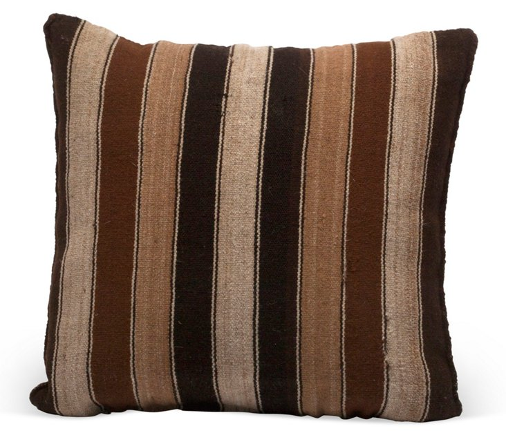 Bolivian Striped Pillow