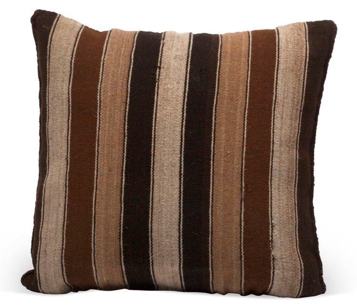 Bolivian Striped Pillow