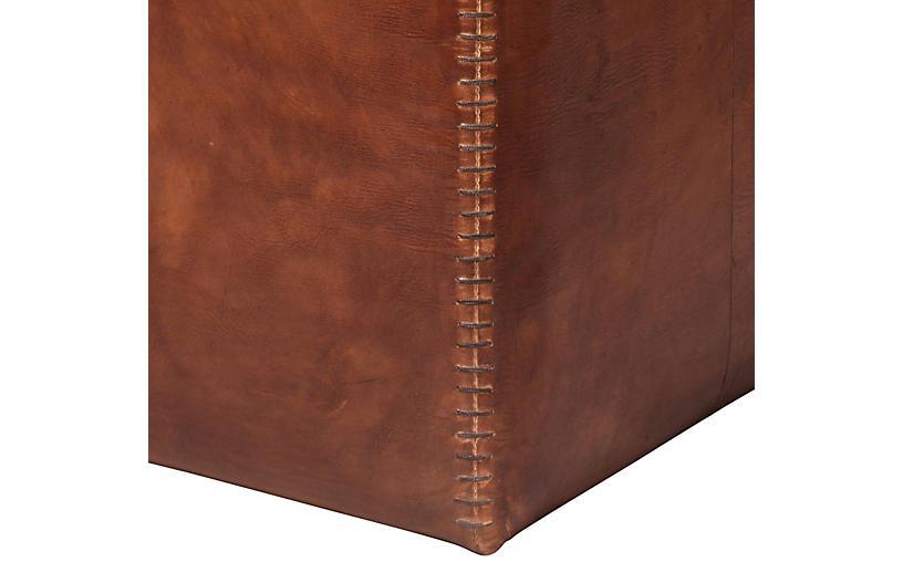 Super Tanner Pouf Tobacco Leather Inzonedesignstudio Interior Chair Design Inzonedesignstudiocom