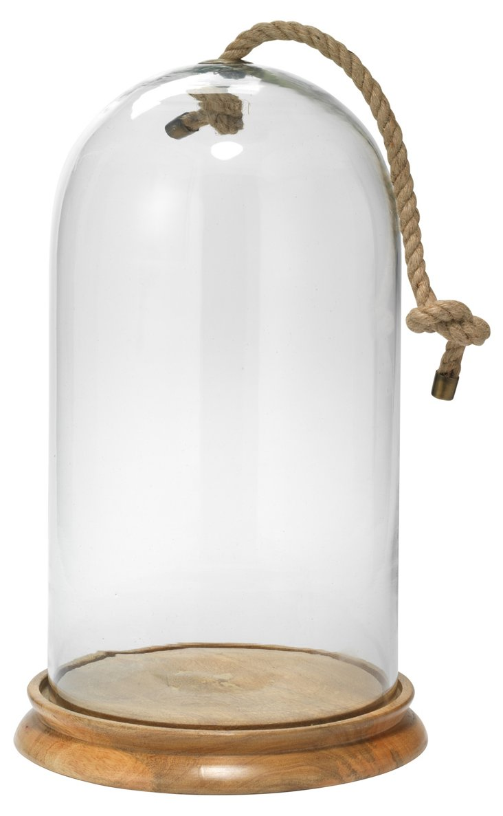 Large Bell Jar, Clear