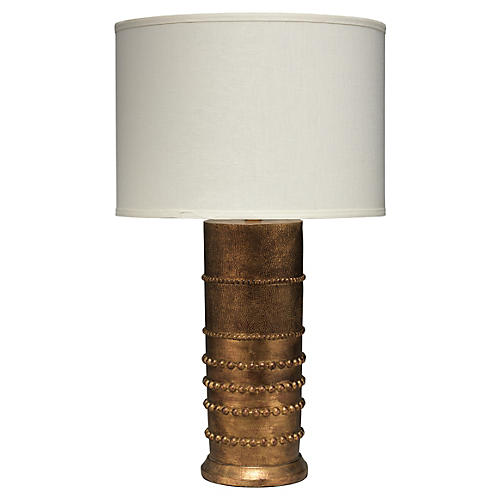 Ceres Table Lamp, Antiqued Gold