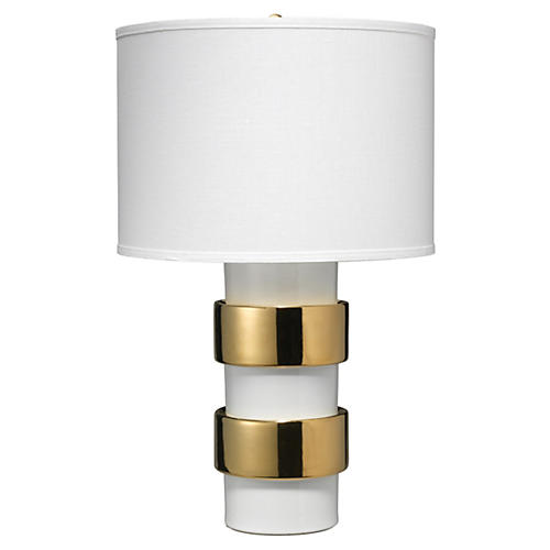 Nash Table Lamp, Gold