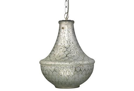 Nimbus Chandelier, Silver