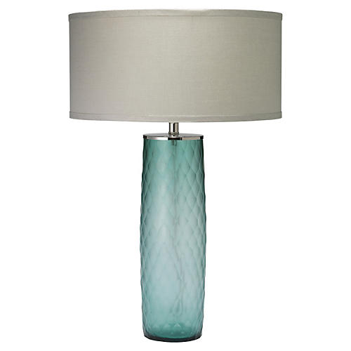 Cloud Table Lamp, Sky Blue