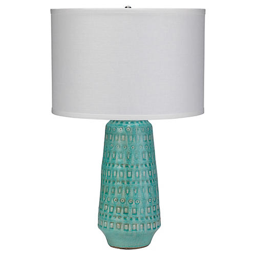 Large Coco Table Lamp, Ocean