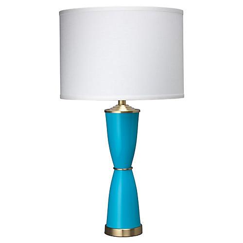 Lido Table Lamp, Blue