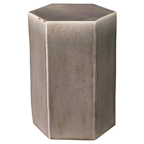 Small Porto Side Table, Gray