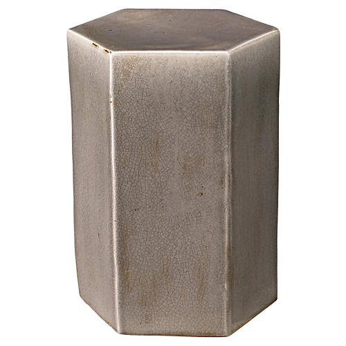 Small Porto Side Table, Gray