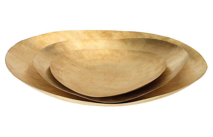 Asst. of 3 Helios Platters