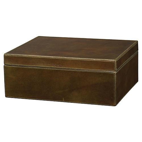 "13"" Earl Box, Olive"