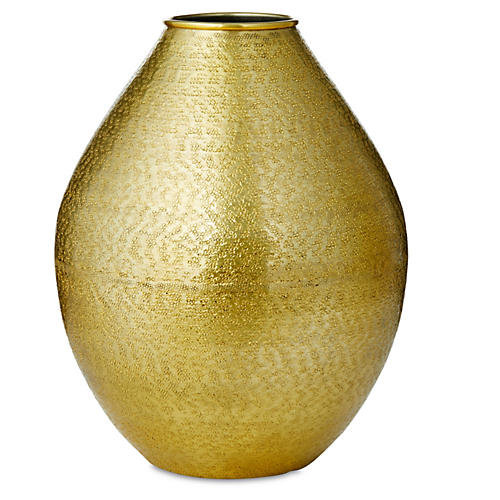 "10"" Textured Hurricane, Gold"
