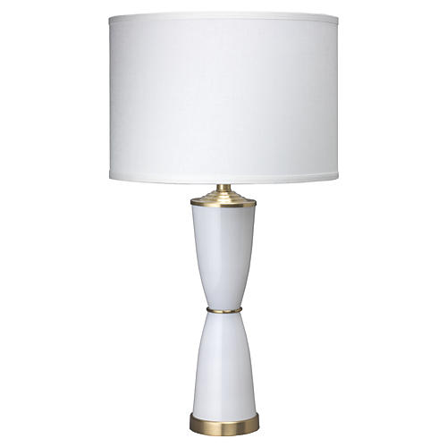 Lido Table Lamp, White
