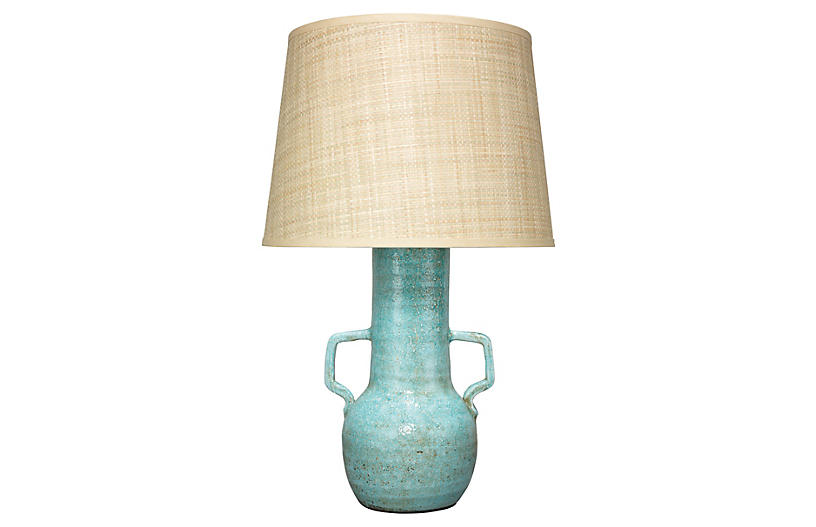 Madre Table Lamp, Turquoise