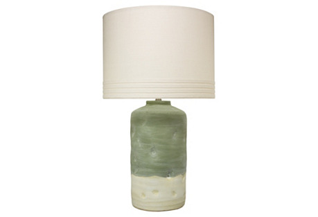 Mohave Table Lamp, Pistachio
