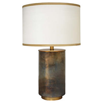 Vapor Glass Table Lamp, Copper