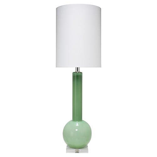 Studio Table Lamp, Leaf Green